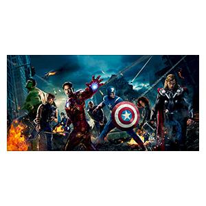 Avengers. Размер: 120 х 60 см